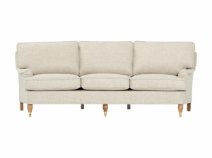 3 sits soffa från howard, svängd